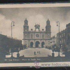 Postales: TARJ. POSTAL FOTOGRAFICA DE LAS PALMAS - PLAZA DE SANTA ANA. 83. BAZAR ALEMAN. Lote 37991956