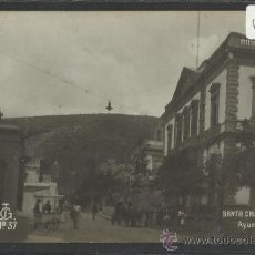 Postales: SANTA CRUZ DE TENERIFE - 37 - AYUNTAMIENTO - JG - FOTOGRAFICA - (16883). Lote 38024091