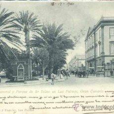 Postales: LAS PALMAS (GRAN CANARIA).- CAPITANIA GENERAL Y PARQUE DE S. TELMO . Lote 38258715