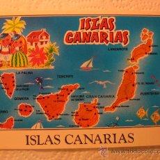 Postales: ISLAS CANARIAS (ISLAS CANARIAS), SIN CIRCULAR, T8353. Lote 38518166