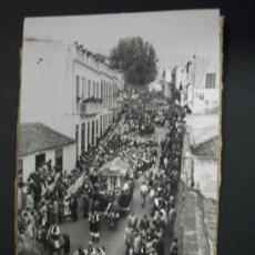 Postales: TARJETA POSTAL FOTOGRÁFICA TENERIFE - LA OROTAVA ROMERÍA DE SAN ISIDRO. Lote 38607304