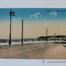 Postales: POSTAL. LAS PALMAS DE GRAN CANARIA. PASEO MARÍTIMO. RODRIGUES BROS.. Lote 38693571