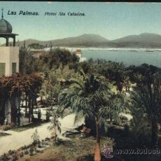 Postales: LAS PALMAS (GRAN CANARIA).- HOTEL STA CATALINA. Lote 38750020