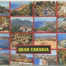 Postales: BLOC POSTAL. GRAN CANARIA. DESPLEGABLE DE 10 POSTALES P-BLOC-034. Lote 38934469