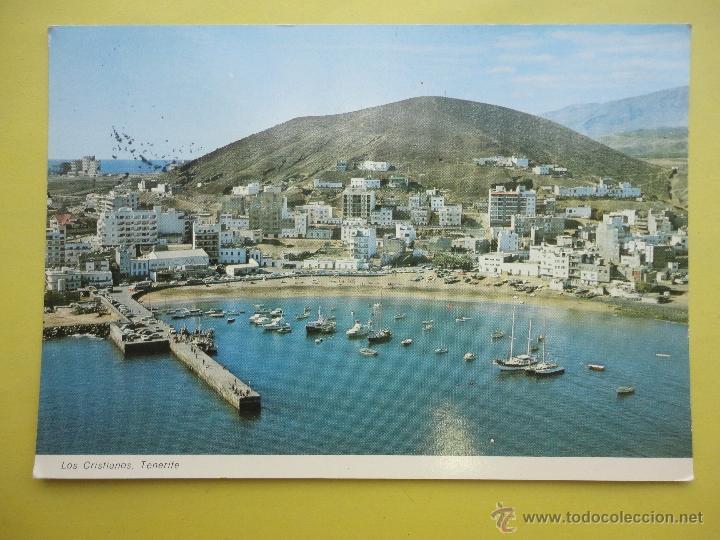 LOS CRISTIANOS, TENERIFE. EXCLUSIVAS CARLOS ROMERO (Postales - España - Canarias Moderna (desde 1940))