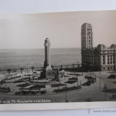 Postales: POSTAL FOTOGRAFICA DE TENERIFE. SANTA CRUZ DE TENERIFE. MONUMENTO A LOS CAÍDOS. BAENA.SIN CIRCULAR. Lote 39465975