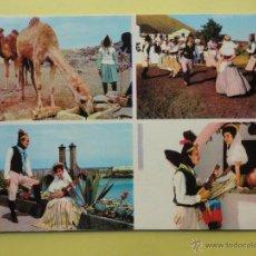 Postales: MOTIVOS DE LANZAROTE. FOTO GABRIEL. Lote 39594186