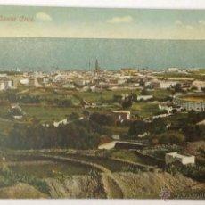 Postales: TENERIFE. SANTA CRUZ. VISTA GENERAL, PLAZA DE TOROS. (ED. NOBREGA'S) . Lote 39603941