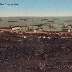 Postales: LAS PALMAS. PUERTO DE LA LUZ.. Lote 39693386