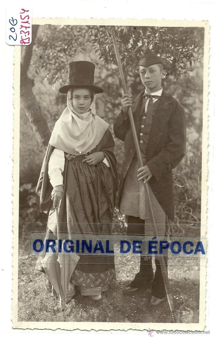 (PS-37154)POSTAL DEL PUEBLO DE ???MIRAR REVERSO.TRAJES TIPICOS. (Postales - España - Canarias Moderna (desde 1940))