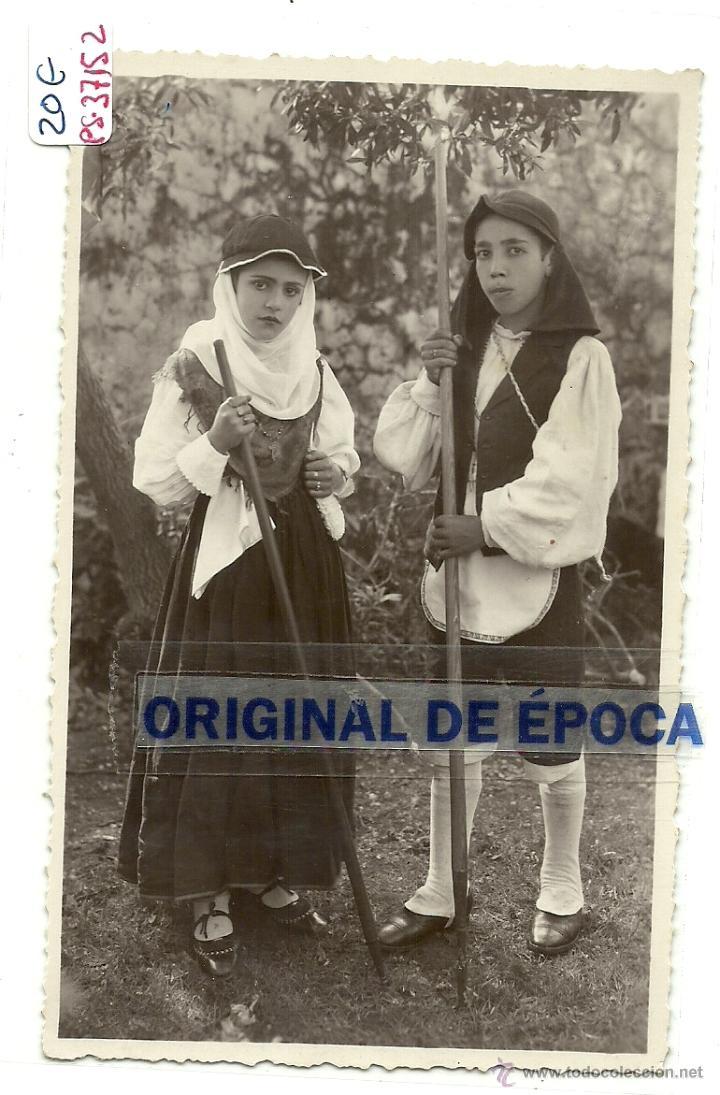 (PS-37152)POSTAL DEL PUEBLO DE ???MIRAR REVERSO.TRAJES TIPICOS. (Postales - España - Canarias Moderna (desde 1940))