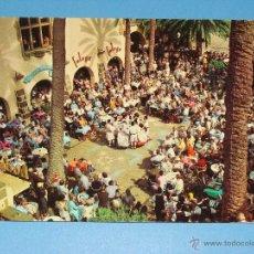 Postales: POSTAL DE GRAN CANARIA. AÑO 1967. LAS PALMAS. BAILES CANARIOS TÍPICOS. 649. Lote 40262200