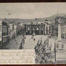 Postales: ANTIGUA POSTAL DE SANTA CRUZ - ESCRITA EN 1904 - SIN REFERENCIA DE EDITOR Y SIN DIVIDIR. Lote 39546389
