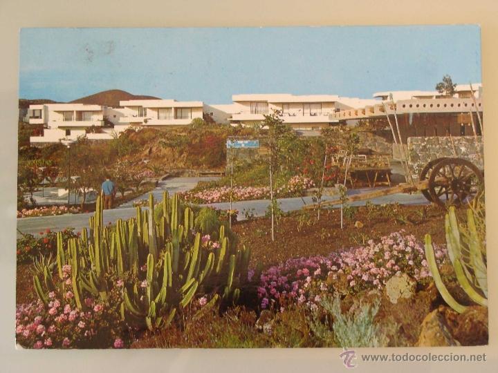 POSTAL DE TENERIFE. AÑO 1970. LAS GALLETAS, TEN BEL, VISTA PARCIAL. CACTUS. 717 (Postales - España - Canarias Moderna (desde 1940))