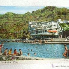 Cartoline: POSTAL TENERIFE - BAJAMAR - HOTEL NAUTILUS - PISCINA NATURAL - SIN CIRCULAR. Lote 40356455
