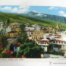 Postales: POSTAL TENERIFE - VILLA DE LA OROTAVA - VISTA PARCIAL - SIN CIRCULAR. Lote 40357424