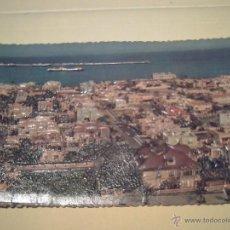 Postales: SERIE A Nº 109 - LAS PALMAS - VISTA PARCIAL DE LA CIUDAD JARDIN - FOTO RELIEVE - FOTOG. LLOPIS. Lote 40378471