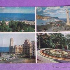 Postales: TENERIFE-V23-ESCRITA-MOTIVOS DE LA CIUDAD. Lote 40386611
