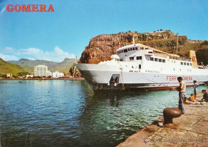 LA GOMERA - SAN SEBASTIAN / FERRY BENCHIJIGUA - Nº 4320 - ED. PERLA - NUEVA - AÑO 1976 - X (Postales - España - Canarias Moderna (desde 1940))