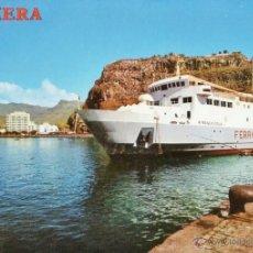 Postales: LA GOMERA - SAN SEBASTIAN / FERRY BENCHIJIGUA - Nº 4320 - ED. PERLA - NUEVA - AÑO 1976 - X. Lote 40748123