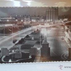 Postales: POSTAL NOCTURNA DE LAS PALMAS DE GRAN CANARIA. ENTRADA MUELLES DEL PUERTO DE LA LUZ. AÑOS 60. Lote 40779373