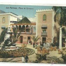 Postales: LAS PALMAS (GRAN CANARIA).- PLAZA DE CAIRASCO. Lote 40981223