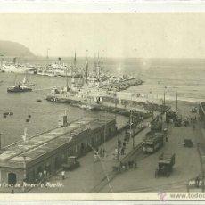 Postales: SANTA CRUZ DE TENERIFE (CANARIAS).- MUELLE. Lote 41088968