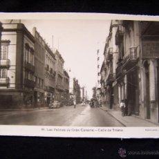 Postales: POSTAL FOTOGRÁFICA SIN CIRCULAR ED ARRIBAS SERIE 39 CALLE TRIANA LAS PALMAS DE GRAN CANARIAS. Lote 41326577
