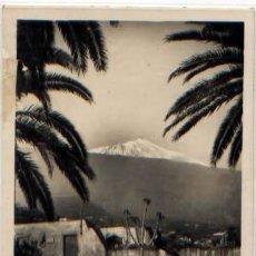 Postales: POSTAL TEIDE DESDE PUERTO DE LA CRUZ TENERIFE ED. ARRIBAS N0 40. Lote 41435519