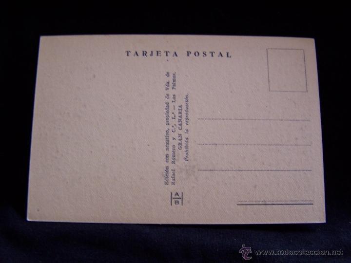 Postales: Postal fotográfica sin circular Ed HAB serie nº 70 Un platanar Las Palmas de Gran Canaria - Foto 2 - 41506507