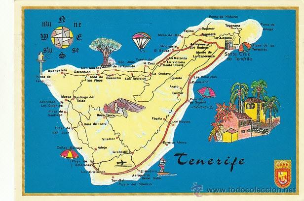 Tenerife mapa de la isla editor sol y nieves comprar - Guia de tenerife pdf ...