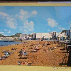 Postales: PLAYA LAS CANTERAS. LAS PALMAS DE GRAN CANARIA. ED. CANARIA. Lote 41906565