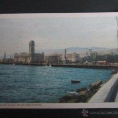 Postales: POSTAL TENERIFE. SANTA CRUZ DE TENERIFE. ENTRADA DESDE EL MUELLE. . Lote 41991538