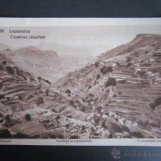 Postales: POSTAL GRAN CANARIA. LAGUNETAS. CUMBRES CANARIAS. . Lote 41992300