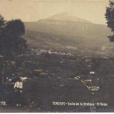 Postales: PS3954 TENERIFE 'VALLE DE LA OROTAVA - EL TEIDE'. POSTAL FOTOGRÁFICA. JG. SIN CIRCULAR. Lote 42324272