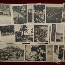 Postales: LOTE DE 48 POSTALES DE SANTA CRUZ DE TENERIFE. DIFERENTES VISTAS. Lote 42520215