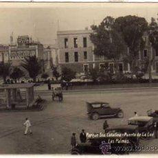 Postales: FOTO F. B. Nº 14 PARQUE DE STA CATALINA. PUERTO DE LA LUZ. LAS PALMAS. FOTOGRÁFICA. SIN CIRCULAR.. Lote 42523360