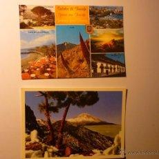 Postales: LOTE POSTALES TENERIFE,.-VARIAS VISTAS.-TEIDE. Lote 42641055