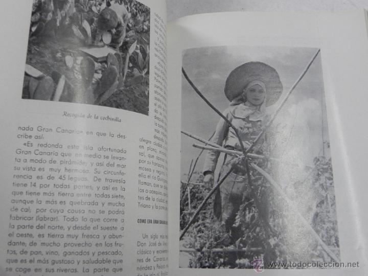 Postales: REVISTA GEOGRÁFICA ESPAÑOLA - Nº 8, DEDICADO A GRAN CANARIA, PORTADA ILUSTRADA POR PENAGOS, MUCHISI - Foto 4 - 43003846