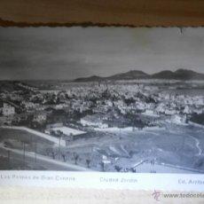 Postales: POSTAL - LAS PALMAS DE GRAN CANARIA - CIUDAD JARDÍN - 36 - EDICIONES ARRIBAS - SIN ESCRIBIR -. Lote 43070874