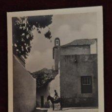 Postales: ANTIGUA POSTAL DE LAS PALMAS. GRAN CANARIA. LATERAL DE LA IGLESIA STO. DOMINGO. SIN CIRCULAR. Lote 43246442
