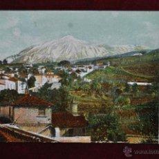 Postales: ANTIGUA POSTAL DE TENERIFE. EL TEIDE DESDE ICOD. SIN CIRCULAR. Lote 43246892