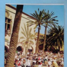 Postales: POSTAL DE GRAN CANARIA. PUEBLO CANARIO, BAILES, TRAJES TÍPICOS. 1459. Lote 43299052