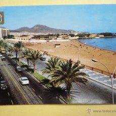 Cartes Postales: AVDA. Y PLAYA DE LAS ALCARAVANERAS. GRAN CANARIA. ED. FISA. Lote 43375870