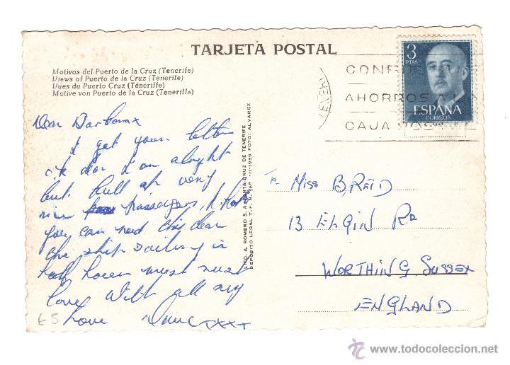 Postales: TENERIFE. DIFERENTES VISTAS DEL PUERTO DE LA CRUZ. MUCHAS MÁS POSTALES EN RASTRILLO PORTOBELLO - Foto 2 - 43391714