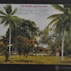 Postales: ANTIGUA POSTAL DE LAS PALMAS. GRAN CANARIA. CERCA DE SAN JUAN. CIRCULADA. Lote 43576855
