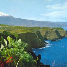 Postales: PAISAJE CON TEIDE Y MAR. ED. FARDI Nº 131.POSTAL NO CIRCULADA (1963).. Lote 43579725