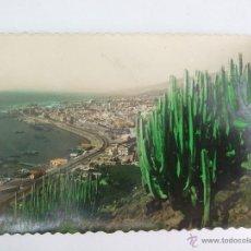 Postales: POSTAL - SANTA CRUZ DE TENERIFE - VISTA PARCIAL DEL PUERTO - EDICIONES LUJO - 18 - COLOREADA. Lote 43650766