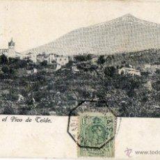 Postales: POSTAL ANTIGUA-TENERIFE -JCOD CON EL PICO DE TEIDE. Lote 43698543