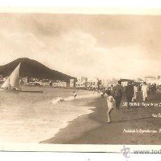 Postales: POSTAL LAS PALMAS – PLAYA DE LAS CANTERAS – FOTO BAENA. Lote 43814979